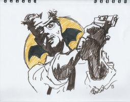 11 18 2013 DSC Commissioner Gordan of Gotham City by MyThoughtsAreDeep