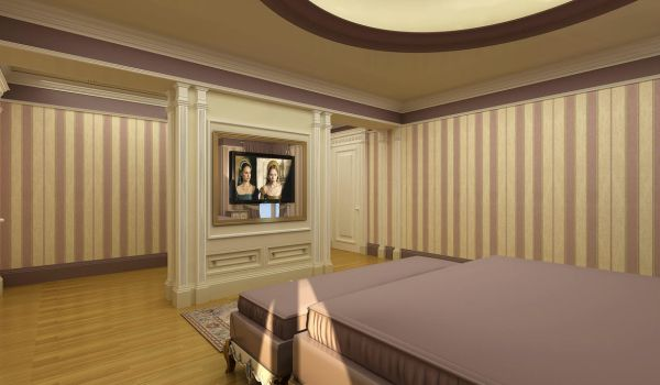 classic bedroom2 by gokiyan