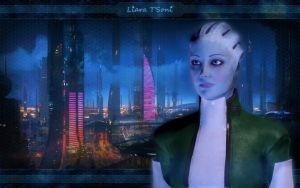 Mass Effect 2 Liara by MightyBOBcnc