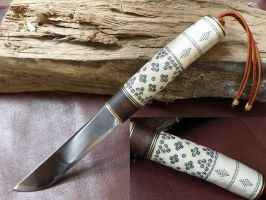 Viking knife by wilk13