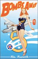Rita Hayworth B-24 Pin Up Poster by JSHatton
