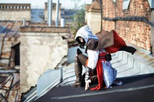 Assassin's Creed II fem!Ezio Auditore cosplay 4 by Ko-shi-patrick