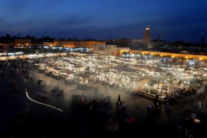Postcard from Marrakesh 01 by JACAC