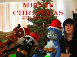 Christmas card....yes its late by DarkStory