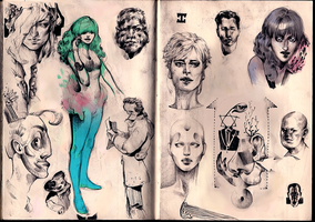 Sketchbook Page Nmbr 7457 by xocol4t4