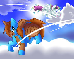 Catch Me If You Can by BUNGAL0W