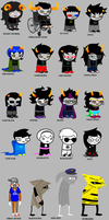 homestuck according to eric by cockabeetle
