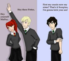If a Malfoy dated a Potter by DKCissner