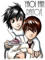 Deathnote Yaoi by ScuttlebuttInk