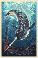 Narwhal by AlixBranwyn