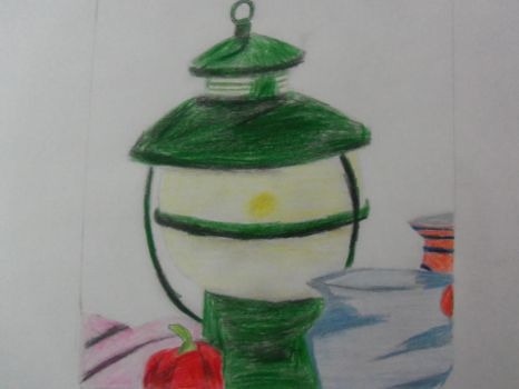 Class Day 4 - More Colored Pencil by Karasu416