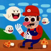 The Mushroom Kingdom by Teagle