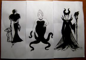 Queens of darkness by minihumanoid