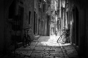 Streets of Rovinj by Daby1907