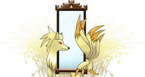 Ninetales: Mirror by Amerso