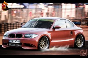 BMW series 3 racing by jhoncolle