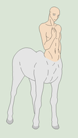 Original Base - Shy Male Centaur by Mature-Bases