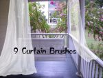 curtain Brushes 2 by farmerstochter
