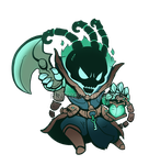 Thresh Chibi by RinTheYordle
