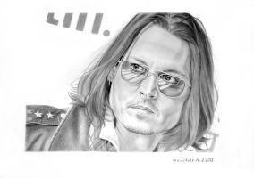 Johnny Depp - Toronto 2012 - 2 by shaman-art