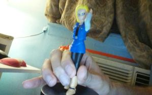 android 18 figure by gamemaster8910