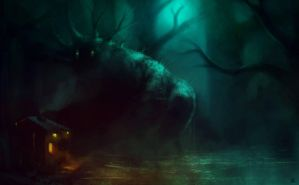 Swamp creature by norbface