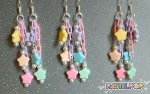Stardrop Pastel Earrings by PeppermintPuff