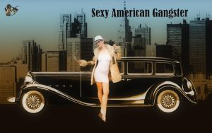 Sexy american gangster by Amazingswordarts