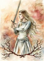 White Lady of Rohan by LiigaKlavina