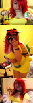 Fem Bowser WIP by LovelyDagger