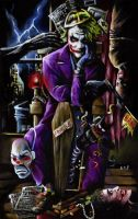 The Joker by sullen-skrewt
