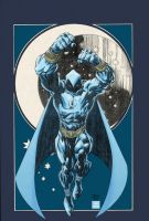 Moon Knight colors by Absalom7