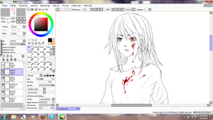 wip zombie girl by Louie-chan
