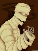 Horror Triad: Mummy Imhotep by Kirbopher15