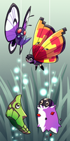 PKMNation - Bug's Life by TamarinFrog