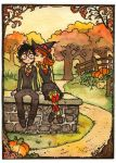 Harry and Ginny Fall Afternoon by Luthie13
