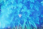 Single Flower Blue Filter by SilverFoxCustom