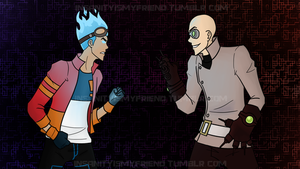 Face Off by RexFangirl