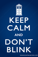 Keep Calm and Don't Blink by dontblinktees