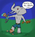 Marcus's Wereelephant by dwarfcomic