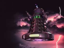 Dalek STORM by Ratbullets