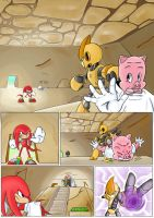 Knuckles: Skeletons in the Closet (Part 2: Page 1) by shamethedawg