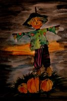 Drawloween: Scarecrow by chaosqueen122