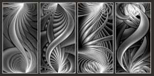 Curves in Black White and Gray by DWALKER1047