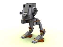 Lego AT-ST by webwizardking