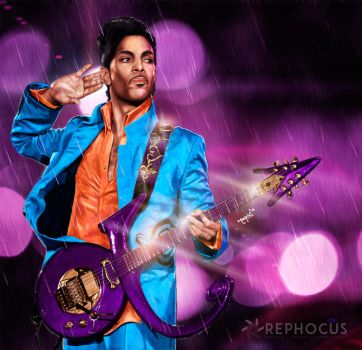 Prince / Purple Rain by rephocus