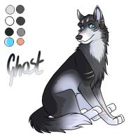 Ghost - New by wolfshadow10
