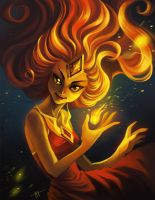 flame princess by StefTastan