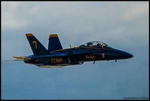 Blue Angel High Speed Pass by AirshowDave
