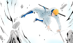 Coloring: Quincy Ichigo by PeachBerryDivision